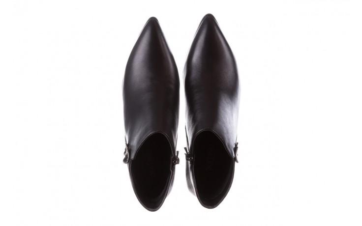 Botki sca'viola f-173 black leather, czarny, skóra naturalna - skórzane - botki - buty damskie - kobieta 5