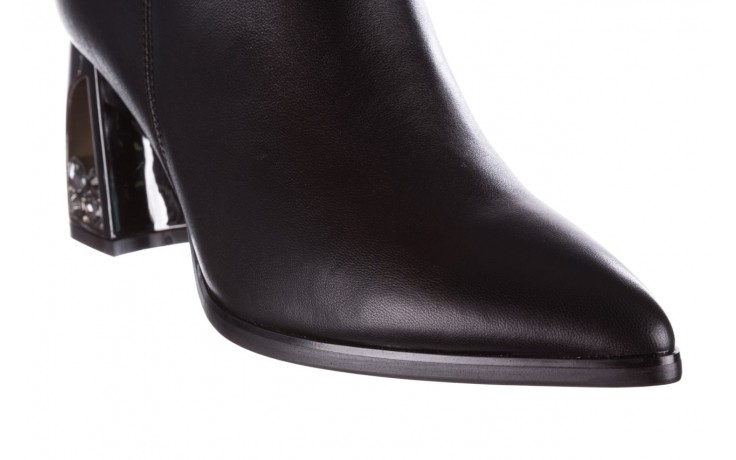 Botki sca'viola f-173 black leather, czarny, skóra naturalna - skórzane - botki - buty damskie - kobieta 7