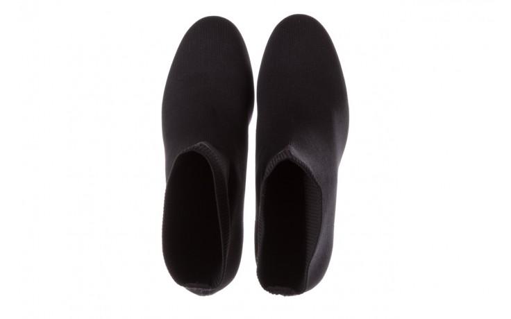 Botki sca'viola b-157 black, czarny, materiał - sca`viola - nasze marki 5