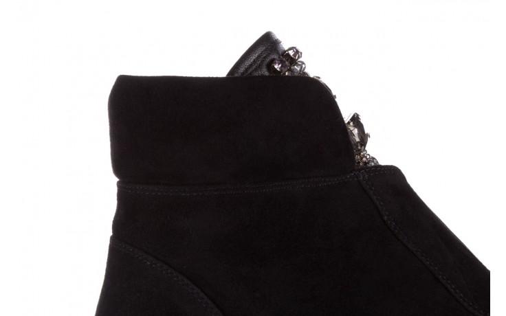 Trzewiki sca'viola f-170 black suede, czarny, skóra naturalna - trzewiki - buty damskie - kobieta 7