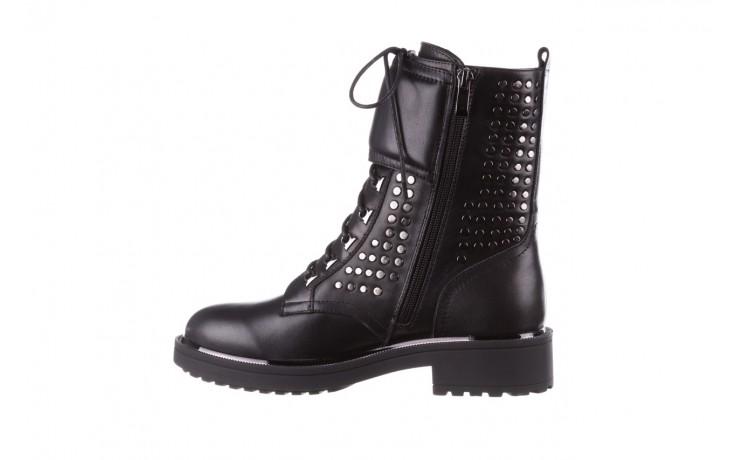 Trzewiki sca'viola p-35 black, czarny, skóra naturalna - trzewiki - buty damskie - kobieta 3
