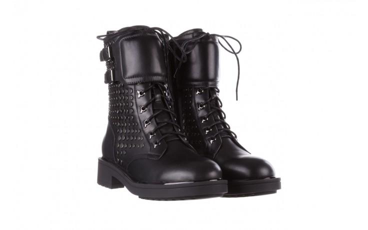 Trzewiki sca'viola p-35 black, czarny, skóra naturalna - trzewiki - buty damskie - kobieta 1