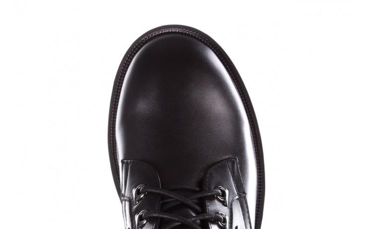 Trzewiki sca'viola p-35 black, czarny, skóra naturalna - trzewiki - buty damskie - kobieta 8
