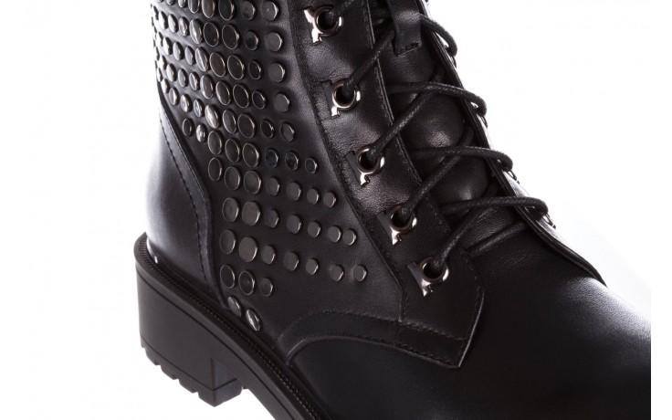 Trzewiki sca'viola p-35 black, czarny, skóra naturalna - trzewiki - buty damskie - kobieta 6