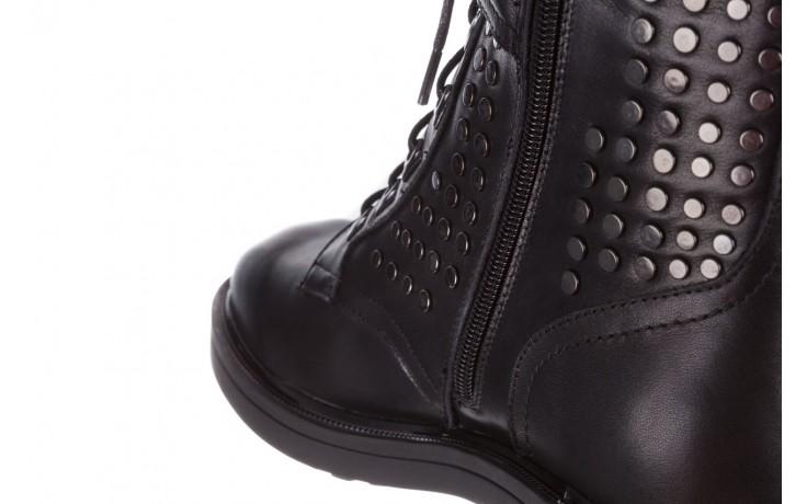 Trzewiki sca'viola p-35 black, czarny, skóra naturalna - trzewiki - buty damskie - kobieta 9