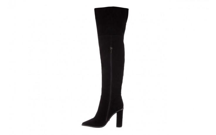 Kozaki sca'viola e-19 black suede, czarny, skóra naturalna - kozaki - buty damskie - kobieta 3