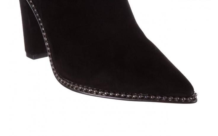Kozaki sca'viola e-19 black suede, czarny, skóra naturalna - kozaki - buty damskie - kobieta 8