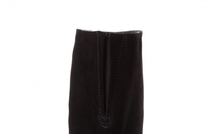 Kozaki sca'viola e-19 black suede, czarny, skóra naturalna - kozaki - buty damskie - kobieta 6