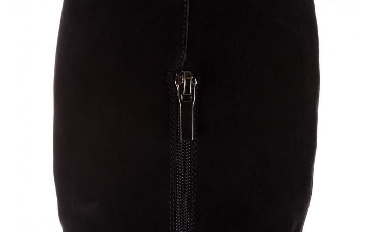 Kozaki sca'viola e-19 black suede, czarny, skóra naturalna - kozaki - buty damskie - kobieta 7