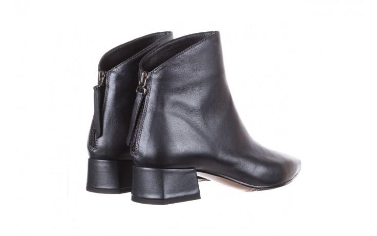 Botki bayla-188 004 metal szary, skóra naturalna - skórzane - botki - buty damskie - kobieta 5