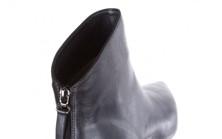 Botki bayla-188 004 metal szary, skóra naturalna - skórzane - botki - buty damskie - kobieta 6