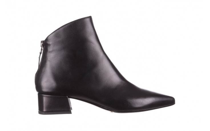 Botki bayla-188 004 czarny lico, skóra naturalna - skórzane - botki - buty damskie - kobieta