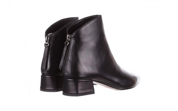 Botki bayla-188 004 czarny lico, skóra naturalna - skórzane - botki - buty damskie - kobieta 4