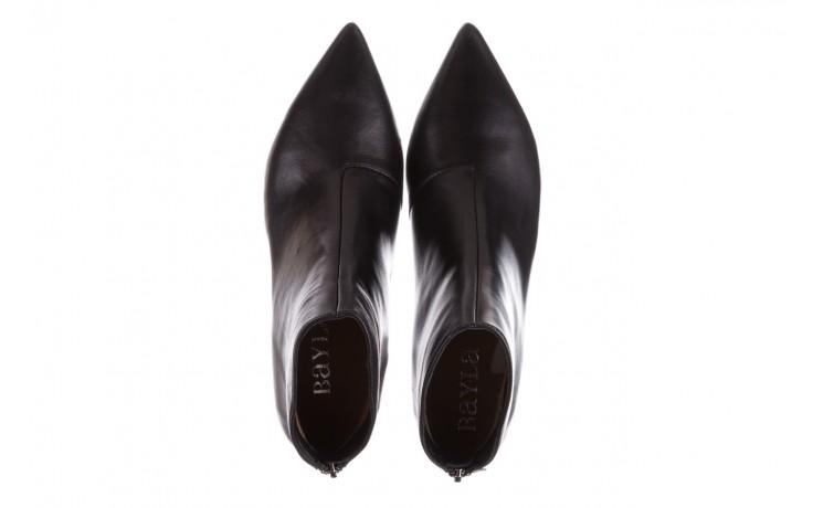Botki bayla-188 004 czarny lico, skóra naturalna - skórzane - botki - buty damskie - kobieta 5