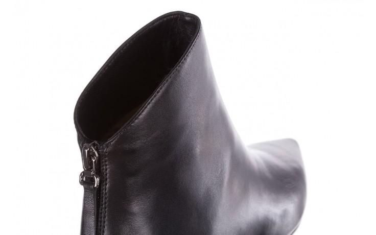 Botki bayla-188 004 czarny lico, skóra naturalna - skórzane - botki - buty damskie - kobieta 6