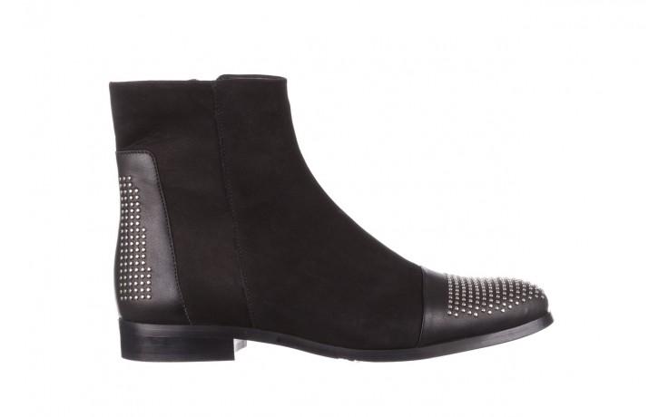 Botki bayla-188 013 czarny, skóra naturalna - sztyblety - botki - buty damskie - kobieta