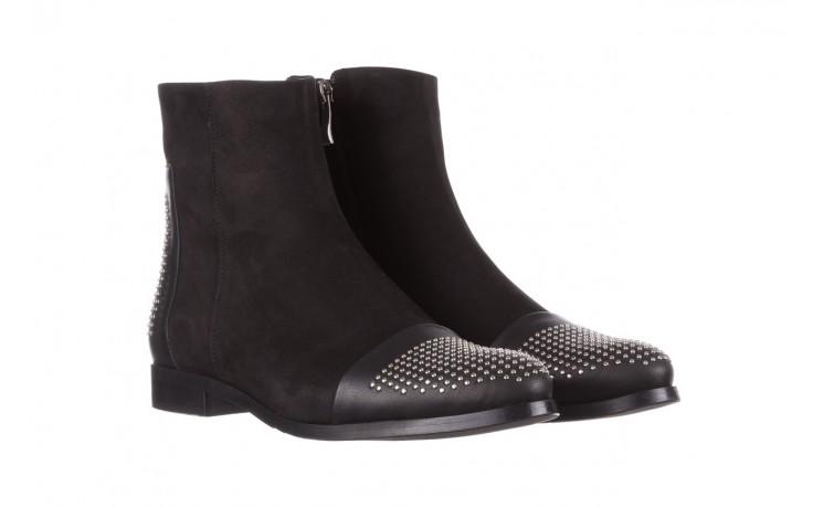 Botki bayla-188 013 czarny, skóra naturalna - sztyblety - botki - buty damskie - kobieta 1