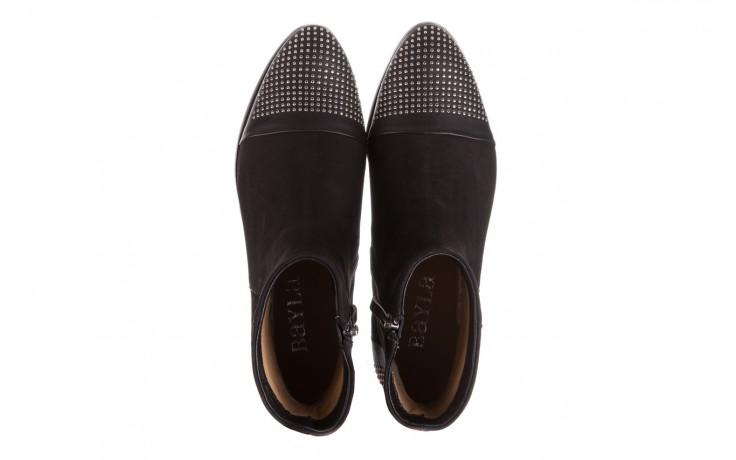 Botki bayla-188 013 czarny, skóra naturalna - sztyblety - botki - buty damskie - kobieta 4