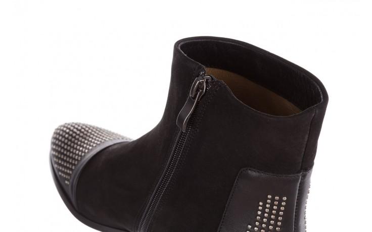 Botki bayla-188 013 czarny, skóra naturalna - sztyblety - botki - buty damskie - kobieta 6