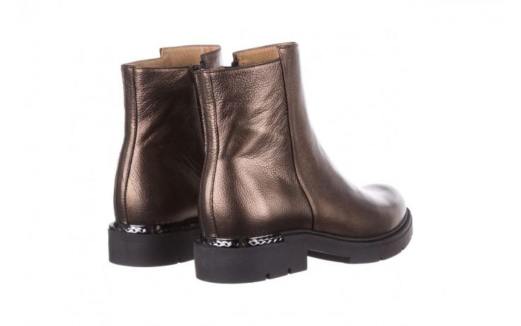 Trzewiki bayla-188 022 groszek brąz, skóra naturalna - trzewiki - buty damskie - kobieta 4