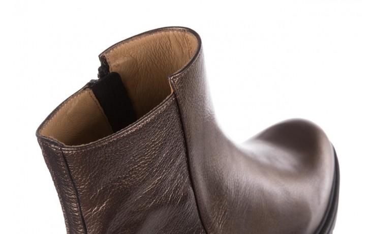 Trzewiki bayla-188 022 groszek brąz, skóra naturalna - trzewiki - buty damskie - kobieta 6