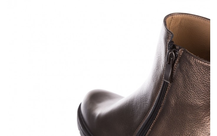 Trzewiki bayla-188 022 groszek brąz, skóra naturalna - trzewiki - buty damskie - kobieta 7