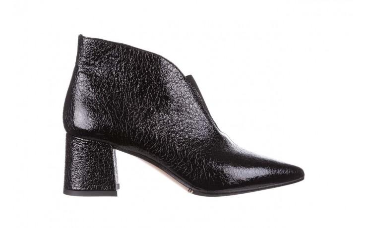 Botki bayla-188 031 czarny, skóra naturalna lakierowana - skórzane - botki - buty damskie - kobieta