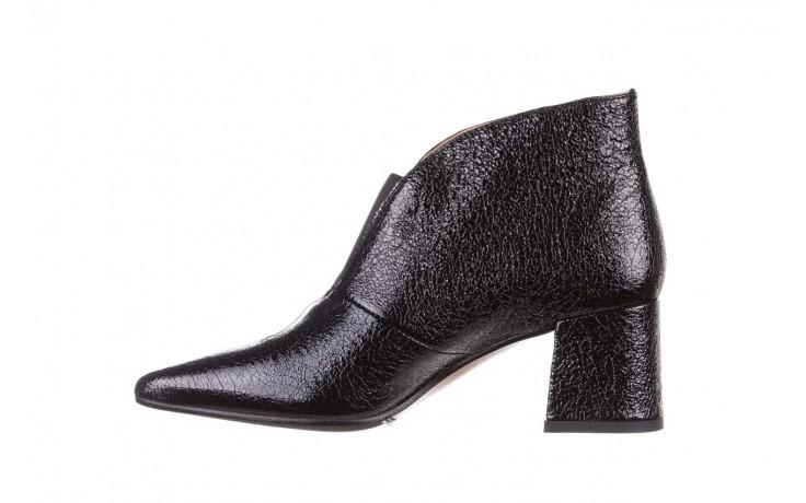 Botki bayla-188 031 czarny, skóra naturalna lakierowana - skórzane - botki - buty damskie - kobieta 3