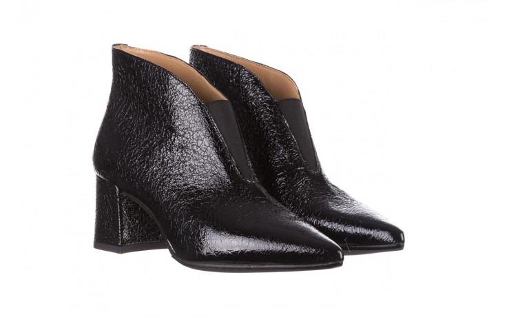 Botki bayla-188 031 czarny, skóra naturalna lakierowana - skórzane - botki - buty damskie - kobieta 1