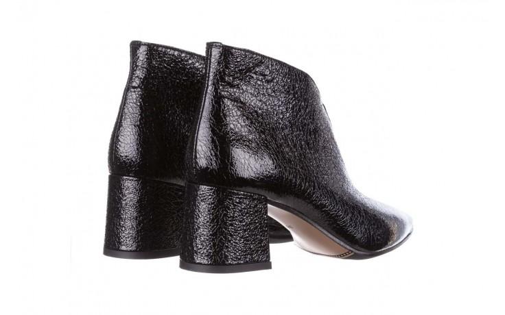 Botki bayla-188 031 czarny, skóra naturalna lakierowana - skórzane - botki - buty damskie - kobieta 4