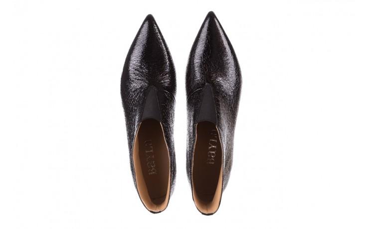 Botki bayla-188 031 czarny, skóra naturalna lakierowana - skórzane - botki - buty damskie - kobieta 5