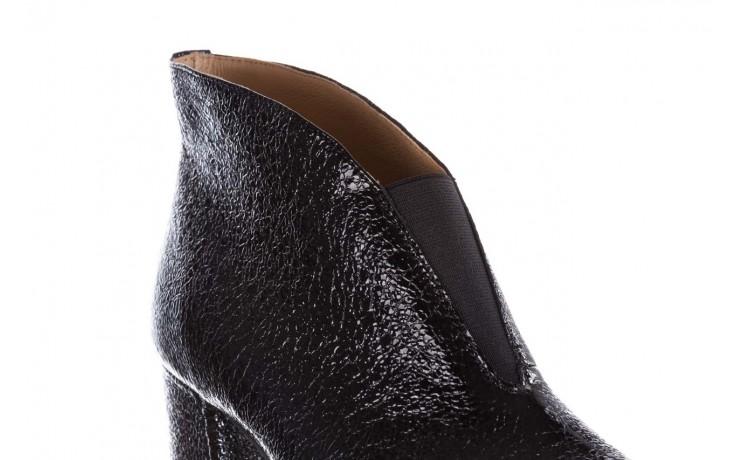 Botki bayla-188 031 czarny, skóra naturalna lakierowana - skórzane - botki - buty damskie - kobieta 6