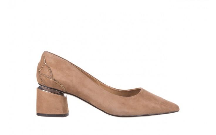 Czółenka bayla-188 030 beż, skóra naturalna - czółenka - buty damskie - kobieta