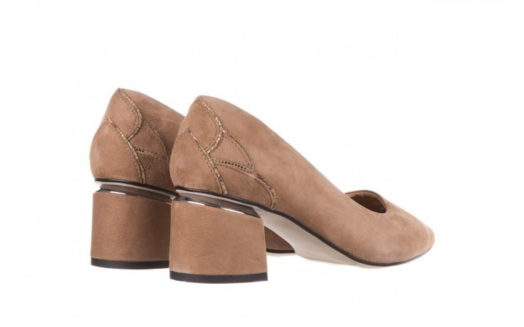 Czółenka bayla-188 030 beż, skóra naturalna - czółenka - buty damskie - kobieta 5