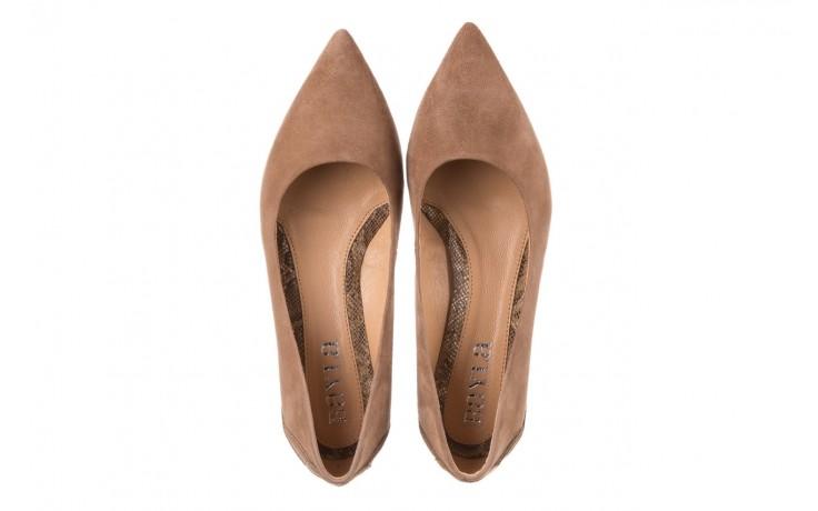 Czółenka bayla-188 030 beż, skóra naturalna - czółenka - buty damskie - kobieta 4