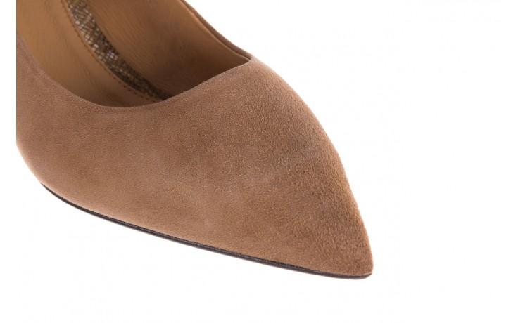 Czółenka bayla-188 030 beż, skóra naturalna - czółenka - buty damskie - kobieta 7