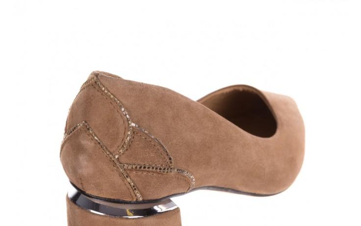 Czółenka bayla-188 030 beż, skóra naturalna - czółenka - buty damskie - kobieta 6