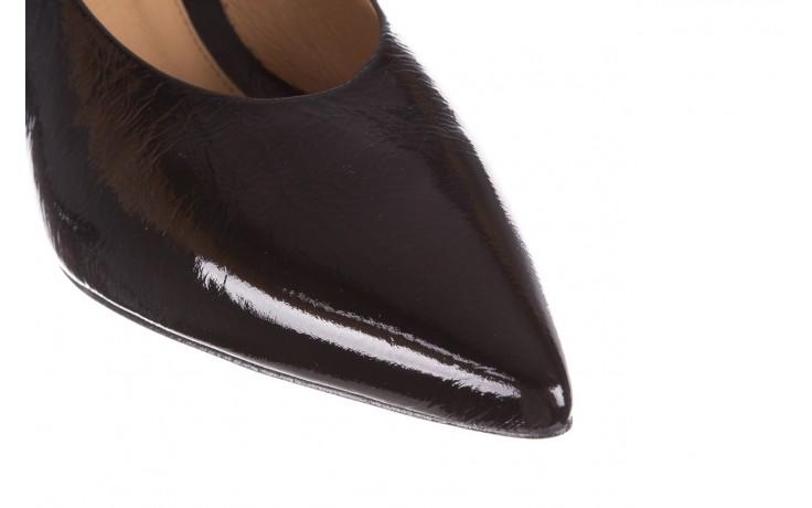 Czółenka bayla-188 029 czarny, skóra naturalna lakierowana - skórzane - czółenka - buty damskie - kobieta 6