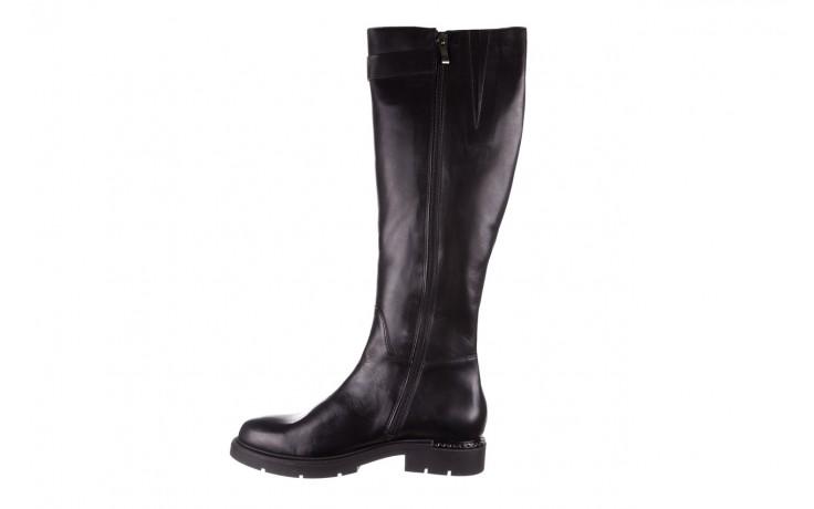 Kozaki bayla-188 020 czarny, skóra naturalna - płaskie - kozaki - buty damskie - kobieta 3