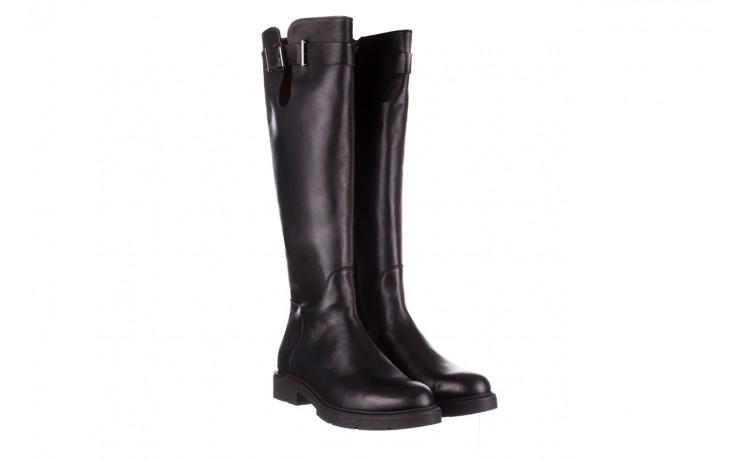 Kozaki bayla-188 020 czarny, skóra naturalna - płaskie - kozaki - buty damskie - kobieta 1