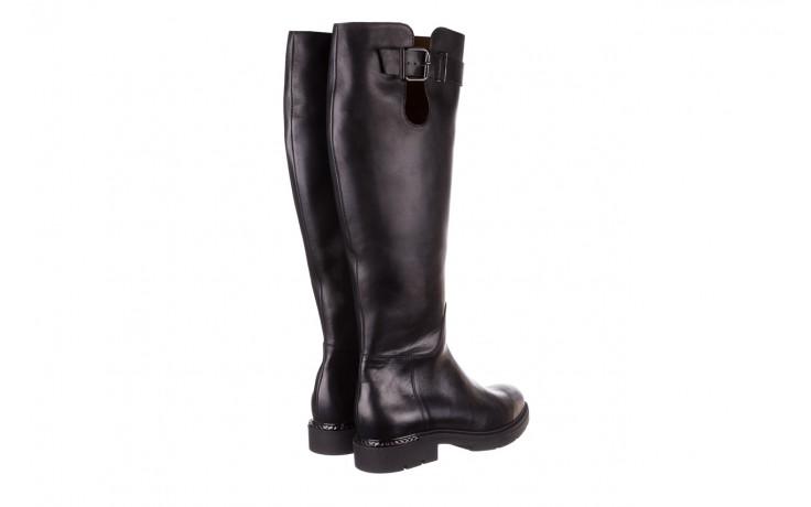 Kozaki bayla-188 020 czarny, skóra naturalna - płaskie - kozaki - buty damskie - kobieta 4