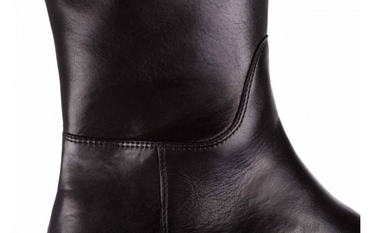 Kozaki bayla-188 020 czarny, skóra naturalna - płaskie - kozaki - buty damskie - kobieta 5