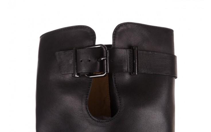 Kozaki bayla-188 020 czarny, skóra naturalna - płaskie - kozaki - buty damskie - kobieta 6