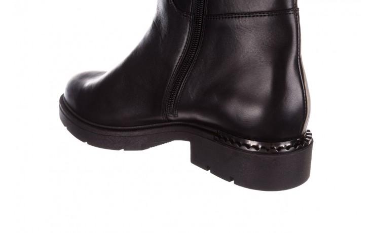 Kozaki bayla-188 020 czarny, skóra naturalna - płaskie - kozaki - buty damskie - kobieta 9