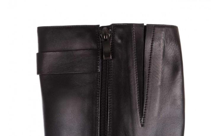 Kozaki bayla-188 020 czarny, skóra naturalna - płaskie - kozaki - buty damskie - kobieta 7