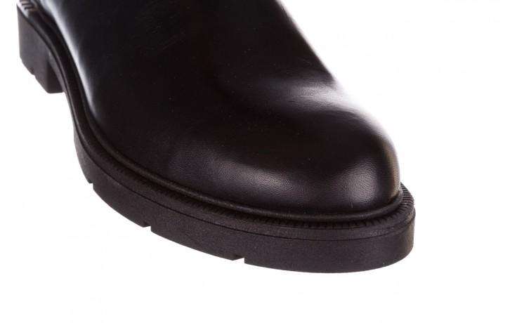 Kozaki bayla-188 020 czarny, skóra naturalna - płaskie - kozaki - buty damskie - kobieta 8