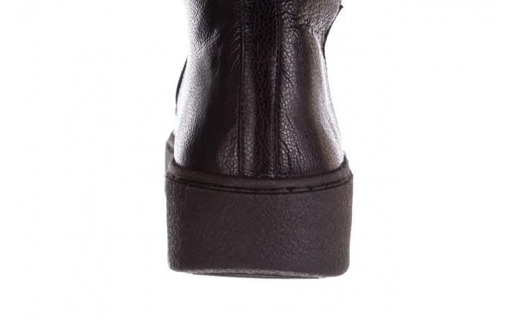 Kozaki bayla-188 027 czarny, skóra naturalna - kozaki - dla niej  - sale 10