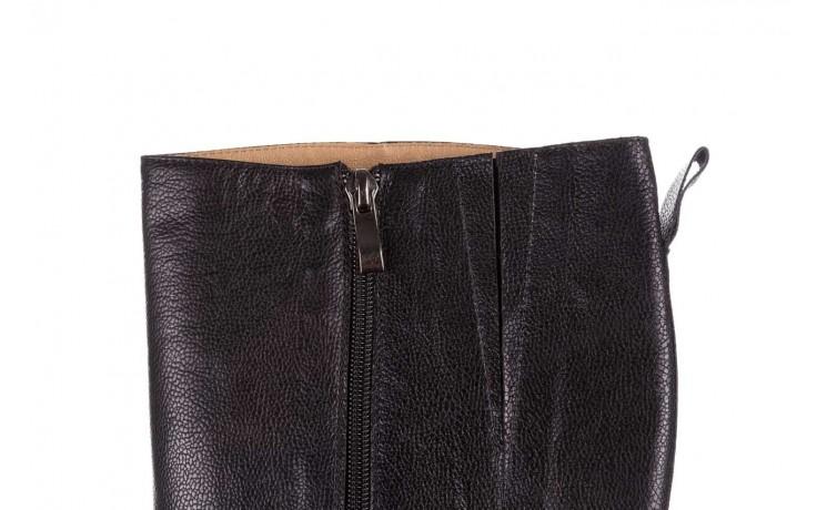 Kozaki bayla-188 027 czarny, skóra naturalna - kozaki - dla niej  - sale 5