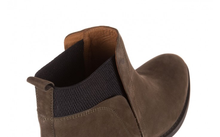 Botki bayla-161 061-2004 khaki, zielony, skóra naturalna  - skórzane - botki - buty damskie - kobieta 6