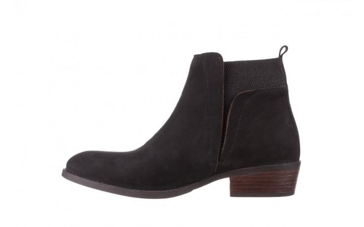 Botki bayla-161 061-2004 black, czarny, skóra naturalna  - skórzane - botki - buty damskie - kobieta 3